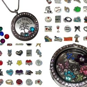 Jewelry - Custom Made Floating Locket with up to 10 Charms